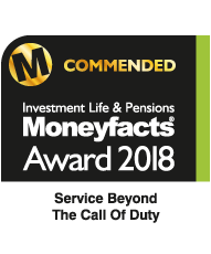 Moneyfacts Award 2018 - Service Beyond the Call of Duty